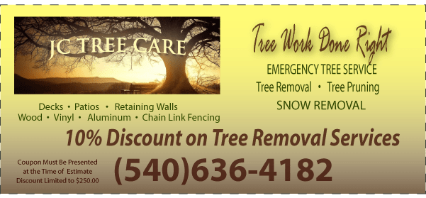 JC Tree Care Coupon